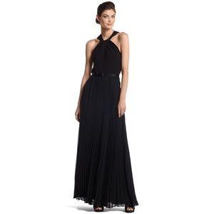 WHITE HOUSE BLACK MARKET Twist Halter Maxi Dress 6